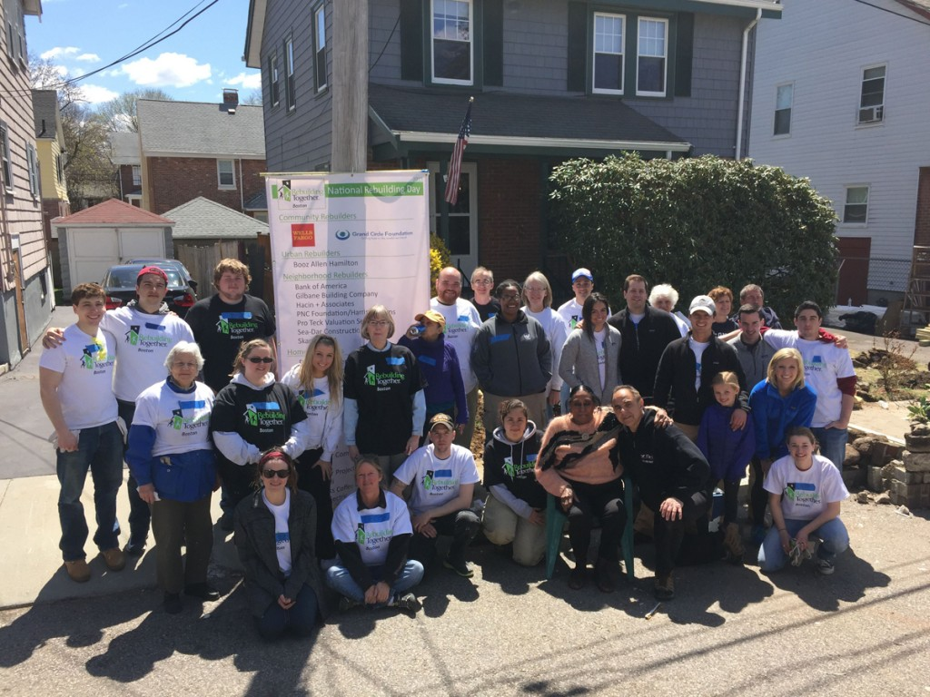 Rebuilding Together Boston workers
