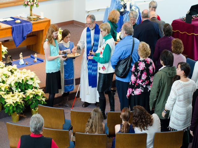 Photo: Communion at Christmas