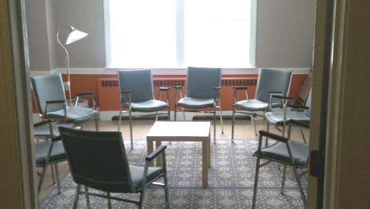 Photo: Upstairs meeting room