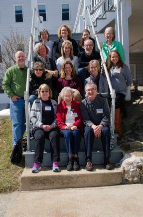 Photo:Praying the Psalms retreat group