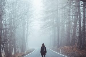 Photo: Long Lonely road