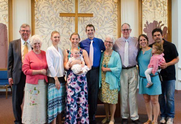Photo: May 7 2017 Baptism